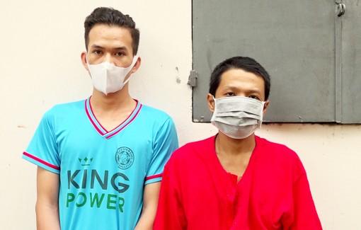 Công an huyện Thoại Sơn bắt đối tượng chém thành viên chốt phòng, chống dịch bệnh COVID-19
