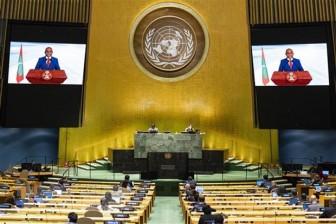 Ngoại trưởng Maldives được bầu làm Chủ tịch khóa 76 của Đại hội đồng LHQ
