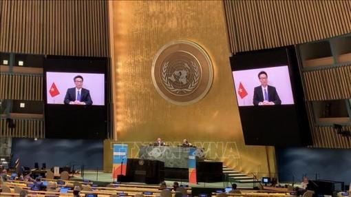 Việt Nam chia sẻ kinh nghiệm tại Hội nghị Cấp cao về HIV/AIDS 2021 của Đại hội đồng LHQ
