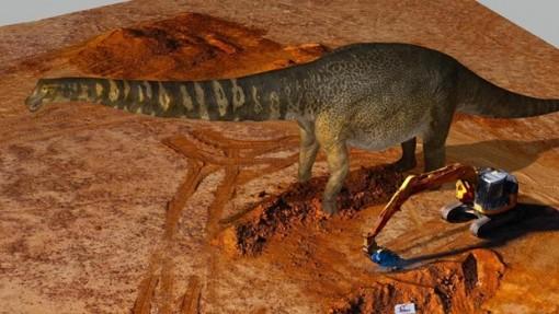 Australia xác định một loài khủng long mới có kích thước lớn nhất