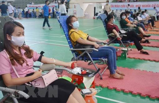 Chương trình hiến máu Hành trình Đỏ 2021 sẽ diễn ra ở 44 tỉnh, thành