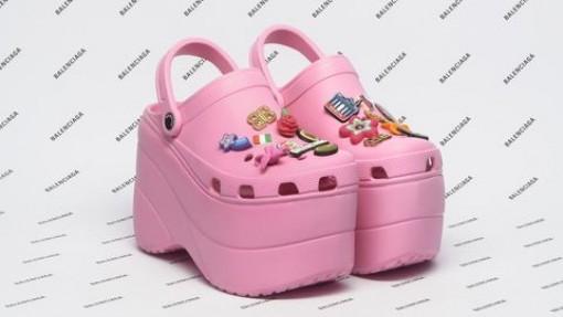 """Balenciaga kết hợp Crocs tạo ra """"đôi giày cao gót xấu xí"""""""