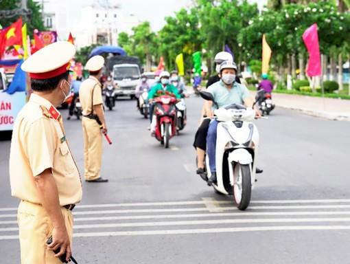 An Giang tăng cường bảo đảm trật tự an toàn giao thông trong dịp nghỉ hè và kỳ thi tốt nghiệp THPT năm 2021