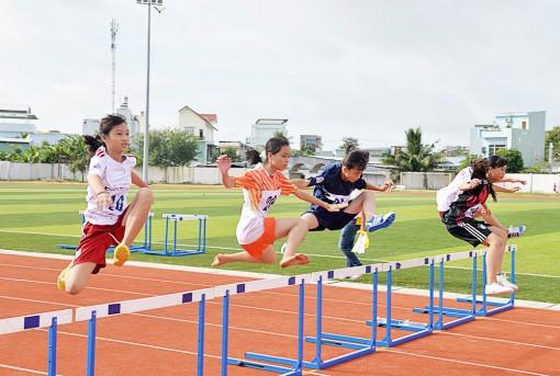 An Giang phát triển phong trào thể thao học đường