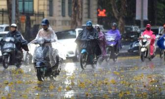 Bắc Bộ, Bắc Trung Bộ đề phòng mưa lớn, lốc sét, gió giật mạnh