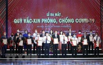 Quỹ vaccine phòng COVID-19: Khi người dân đồng lòng cùng Chính phủ