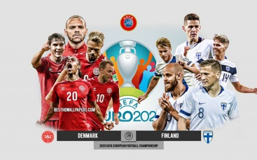 """EURO 2020: Phần Lan-Đan Mạch: Sức mạnh của những """"Chú lính chì"""""""