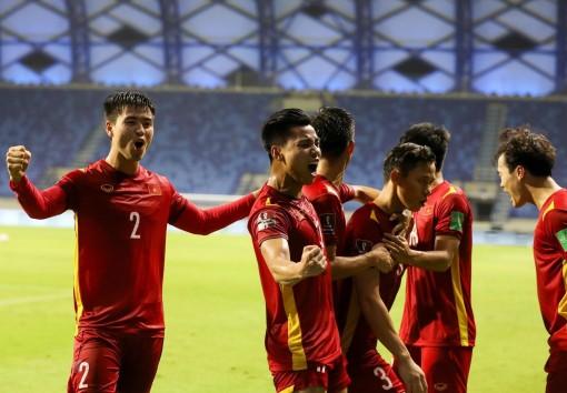 Việt Nam thăng tiến trên bảng xếp hạng FIFA