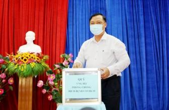 Châu Thành phát động gây quỹ ủng hộ phòng, chống dịch bệnh COVID-19
