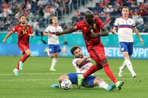 EURO 2020: Lukaku ghi cú đúp, Bỉ thắng đậm Nga