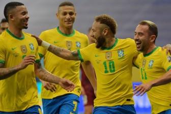 Copa America 2021: Brazil ra quân với chiến thắng trước Venezuela