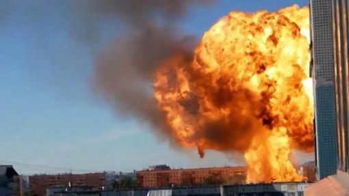 Hỏa hoạn tại trạm xăng ở Nga khiến nhiều người bị thương
