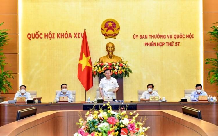 Bế mạc phiên họp thứ 57 của Ủy ban Thường vụ Quốc hội