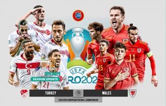 Kèo Thổ Nhĩ Kỳ vs Xứ Wales: Niềm tin cửa dưới
