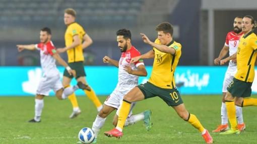Jordan thất bại trước Australia giúp tuyển Việt Nam chắc chắn đi tiếp