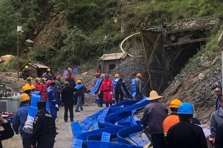 Mưa lớn gây ngập mỏ sắt tại Trung Quốc làm 11 công nhân thiệt mạng