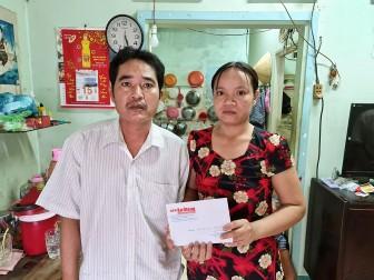 Hơn 22 triệu đồng giúp đỡ anh Lê Văn Tuấn