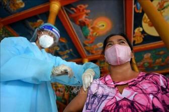 Số ca mắc COVID-19 tại Campuchia tiếp tục tăng nhanh
