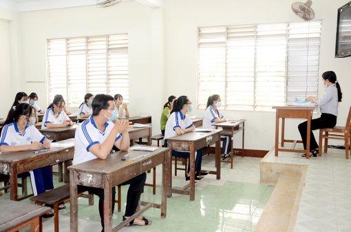 An Giang đảm bảo tốt nhất cho kỳ thi tốt nghiệp THPT năm 2021
