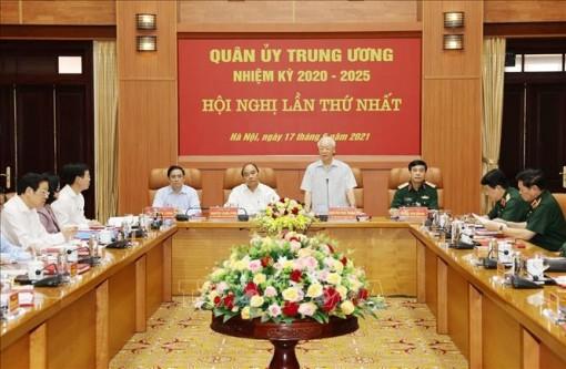 Tổng Bí thư Nguyễn Phú Trọng chủ trì Hội nghị Quân ủy Trung ương lần thứ nhất khóa XI