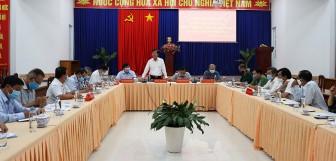 Kết luận của Phó Chủ tịch UBND tỉnh An Giang Lê Văn Phước tăng cường phòng, chống dịch bệnh COVID-19 trên địa bàn An Phú, Tri Tôn, Tịnh Biên và Phú Tân
