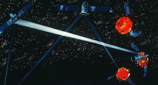 Lực lượng Vũ trụ Mỹ nghiên cứu chế tạo vũ khí năng lượng trên không gian