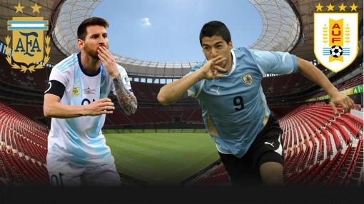 Argentina vs Uruguay: Không khoan nhượng
