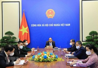 Chủ tịch nước Nguyễn Xuân Phúc điện đàm với Tổng Thư ký Liên hợp quốc
