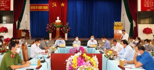 Châu Thành nâng cao tinh thần cảnh giác phòng, chống dịch bệnh COVID-19