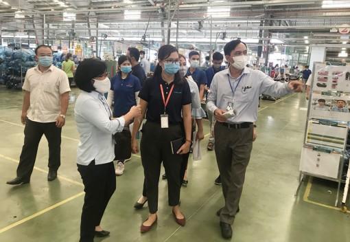 Doanh nghiệp trong khu công nghiệp lên phương án phòng, chống dịch bệnh COVID-19