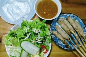 Sức hấp dẫn kỳ lạ của món nem lụi Đà thành, ăn rồi lại muốn ăn thêm