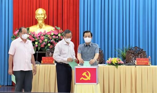Tỉnh ủy An Giang thực hiện quy trình giới thiệu nhân sự ứng cử Trưởng đoàn, Phó Trưởng đoàn đại biểu Quốc hội tỉnh