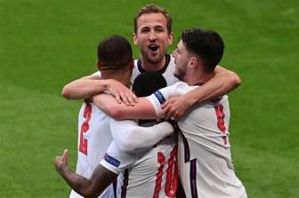 Kết quả EURO 2020: Anh chiếm ngôi đầu, chờ đối thủ ở bảng tử thần