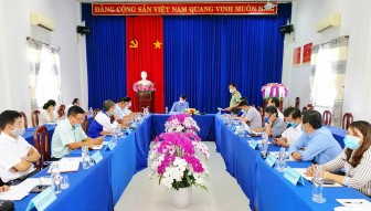 UBND huyện Tịnh Biên triển khai kế hoạch tổ chức kỳ thi tốt nghiệp THPT năm 2021