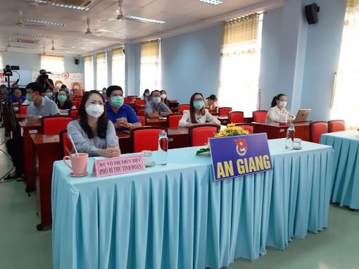 Tỉnh đoàn An Giang tổ chức Hội nghị trực tuyến tuyên truyền phòng, chống ma túy trong thanh, thiếu nhi