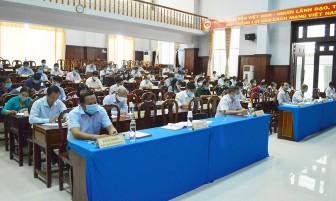 Hội nghị Ban Chấp hành Đảng bộ huyện Tịnh Biên lần thứ 5 (nhiệm kỳ 2020-2025)
