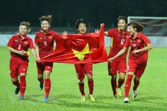 Tuyển Việt Nam vào bảng dễ, sáng cửa dự Asian Cup nữ 2022