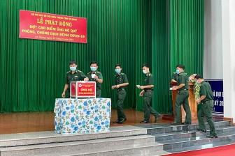 Bộ đội Biên phòng An Giang ủng hộ quỹ Phòng, chống dịch bệnh COVID-19 gần 220 triệu đồng