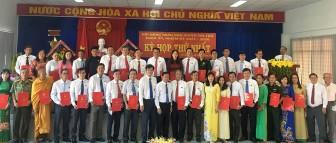 Tri Tôn bầu các chức danh chủ chốt HĐND và UBND huyện
