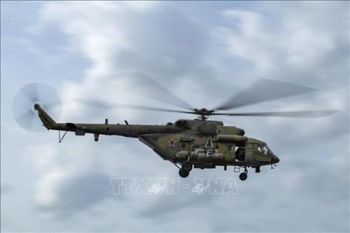 Rơi trực thăng quân sự tại Nga khiến 3 người thiệt mạng