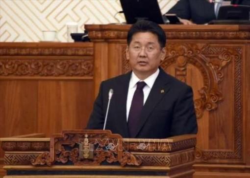 Tổng thống Mông Cổ tuyên thệ nhậm chức