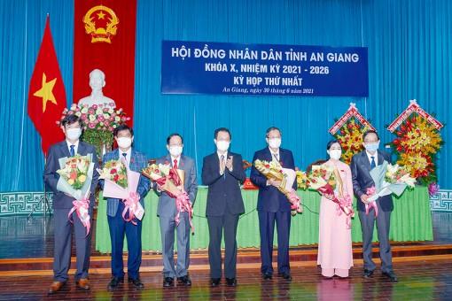 Kỳ họp thứ nhất, HĐND tỉnh An Giang khóa X (nhiệm kỳ 2021-2026) thành công tốt đẹp