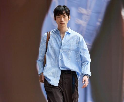Hermès hướng đến sự nhẹ nhàng và tự do cho bộ sưu tập nam mới