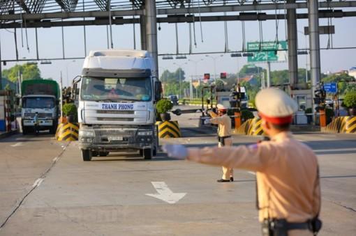 Công bố luồng xanh quốc gia, các chốt kiểm soát cho xe lưu thông