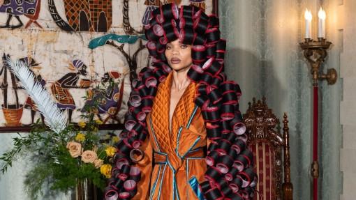 Jean-Raymond đưa thời trang Haute couture của người da đen đến với thế giới