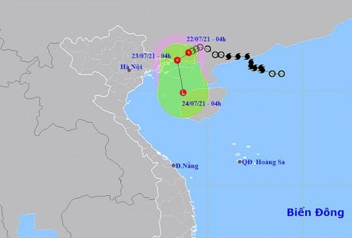 Áp thấp nhiệt đới gây mưa lớn ở Bắc Bộ
