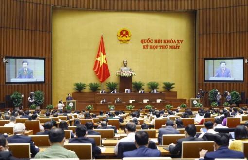 Ngày 23-7, Quốc hội tiếp tục thảo luận về kinh tế - xã hội và tài chính quốc gia
