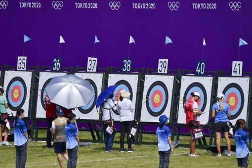 Vòng loại bắn cung Olympic: Ánh Nguyệt xếp thứ 49/64