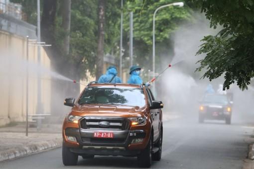 Phun khử khuẩn toàn bộ TP Hồ Chí Minh