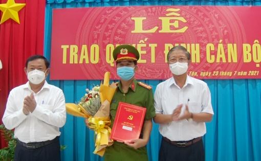 Chỉ định đại tá Tống Quyết Chiến tham gia Ban Thường vụ Huyện ủy Tri Tôn